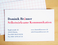 Dominik Brünner, communications trainer