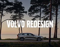 Volvo Cars website redesign