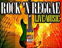 ROCK 'N REGGAE Poster Design
