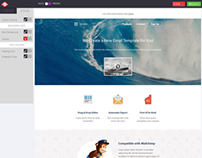 Ocean-Responsive Email Template Withh Editor