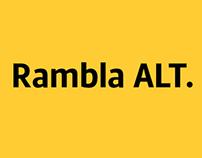 Rambla Alt (FREE Typeface)