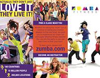Zumba Brochure (Adobe InDesign)