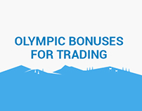 Olympic Bonuses for trading Landng Page