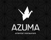 """Скидочная карта для ресторана """"Azuma"""""""