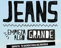Saga Falabella Catálogo Jeans 14'