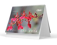 Orchids 2014 Calendar