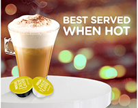 NESCAFE DOLCE GUSTO Facebook Page Wallpost