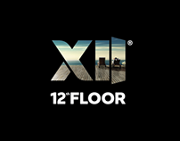 """12th Floor"" apartments dynamic logo and guideline"