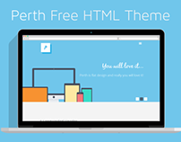 Perth Free HTML&PSD Theme