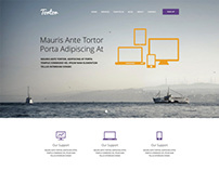 Tortor- Website Theme