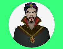 Character design - Zoltar