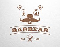 Barbear - Logo for Sale! www.One-Giraphe.com