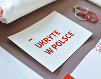 UKRYTE W POLSCE - diploma project