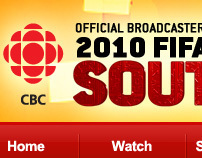 CBC FIFA World Cup 2010 Website