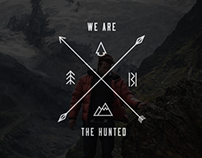 Branding/Visual Identity: We Are The Hunted