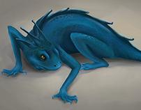 Ilustración lagarto