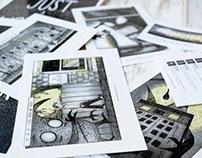 'Just a Worrier' - Short Graphic Novel