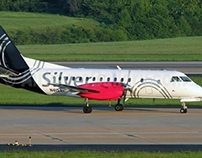 Saab 340 Helps Silver Airways Carry Passengers Safely