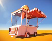 Animation | Icecream Van