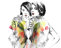 Fashion illustration. Part 5.