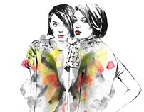 Fashion illustration. Part 5.