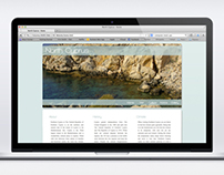 North Cyprus Website mock-up