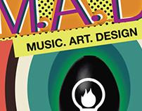 Music, Art, Design, Club