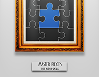 Master Pieces for Autism Speaks | logo redesign