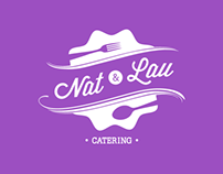 Nat & Lau, Catering Service | Identity