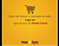 Supermercado Ponto Certo - Postagens Facebook
