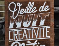 Veille de Nuit Créativité au Matin