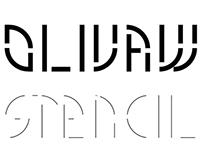 OLIVAW Stencil - Type Workshop