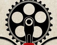 bike chain font