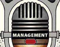 25/8 MANAGEMENT / Logo for Music Management Company
