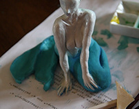 Mermaid // sculpture wip