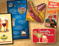 Sumptuous Specialty Menus From Selling Points Design