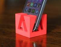 Adobe iPhone Stand