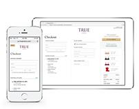 True & Co. Checkout Flow