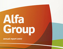 "Annual report ""Alfa Group"""