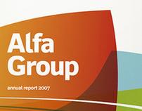 "Annual report ""Alfa Group"""
