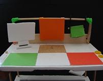 the puzzle desk model