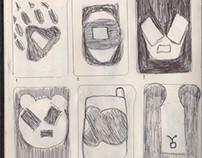 bocetos forma y contraforma
