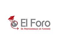 EL FORO LOGO, BRANDING + WEBSITE