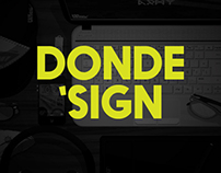[ DONDE'SIGN ]