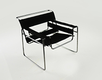 Wassily Chair ¼ Scale Model