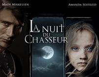 La Nuit du Chasseur: Affiche cinéma.