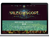 Kaleidoscope Music Festival Website