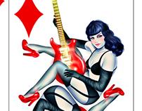 Betty Queen of Diamonds
