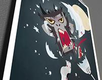 Space Monkey. illustration
