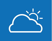Mobile App Weather Icons